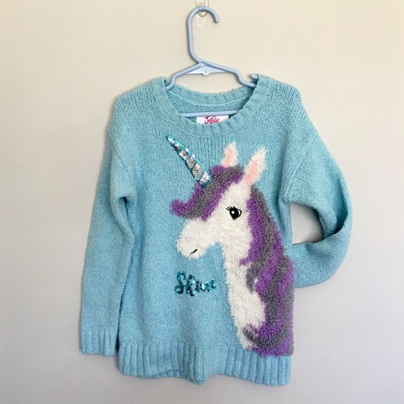 Other - Justice Unicorn Sweater